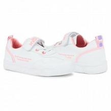 Купить полуботинки kidix, цвет: белый/розовый ( id 11798494 )