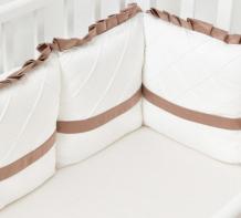 Купить бортик в кроватку colibri&lilly chocolate 120х60 см