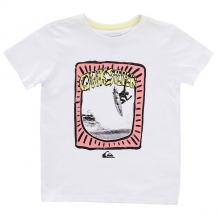Купить футболка детская quiksilver hulu pena boy white белый 1194410