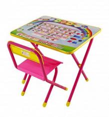 Набор детской мебели Дэми Алфавит, цвет: розовый ( ID 240234 )