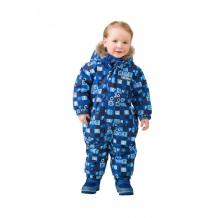 Купить premont зимний комбинезон для малышей голубые льдинки w17401