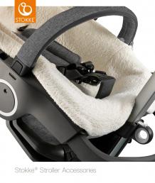 Купить махровое покрывало в коляску stokke stroller, цвет: бежевый stokke 996897213