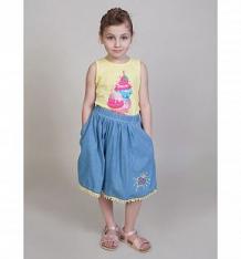 Купить юбка sweet berry вальс бабочек, цвет: голубой ( id 10339475 )