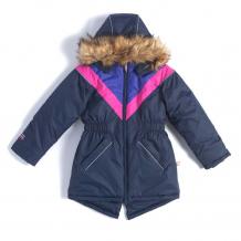 Купить куртка лайки аврора, цвет: синий/розовый ( id 7463689 )