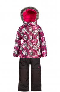 Купить комплект куртка/полукомбинезон zingaro by gusti, цвет: розовый/серый ( id 6492889 )
