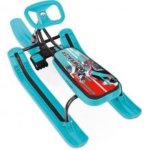 """Купить снегокат nika """"тимка спорт 1"""" kids sportbike, чёрный каркас ( id 12657215 )"""