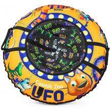 Купить тюбинг small rider ufo cz, оранжевый тигрёнок 9578795