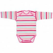 Купить боди чудесные одежки, цвет: розовый/белый ( id 12491872 )