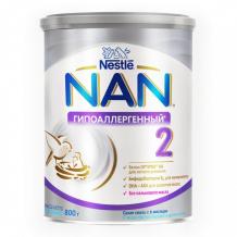 Купить nan ha 2 optipro сухая гипоаллергенная смесь 800 г 12428576