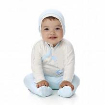 Купить распашонка lucky child, цвет: голубой ( id 12412018 )