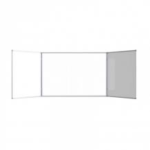 Купить attache доска магнитно-маркерная 2-створчатая 100х300 см (эмаль) 476233