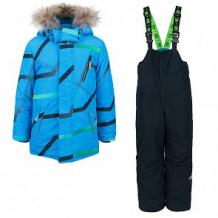 Купить комплект куртка/полукомбинезон stella's kids groza, цвет: голубой ( id 11261528 )
