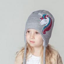 Купить шапка hohloon, цвет: серый ( id 11418448 )