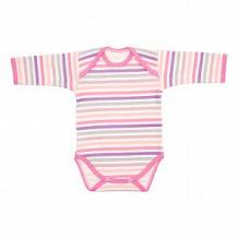 Купить боди чудесные одежки, цвет: розовый/белый ( id 12491980 )