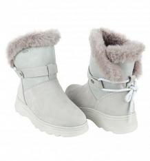 Купить сапоги geox hosmos, цвет: серый ( id 9850176 )