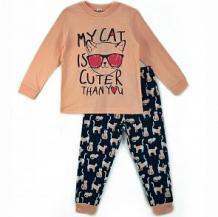 Купить пижама джемпер/брюки mirdada, цвет: оранжевый ( id 11909434 )
