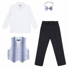 Купить комплект рубашка/жилет/брюки/галстук-бабочка rodeng бабочка, цвет: мультиколор ( id 11046818 )