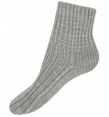 Купить носки журавлик на прогулку, цвет: серый ( id 9984735 )