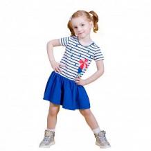 Купить платье mbimbo, цвет: белый/синий ( id 12588880 )