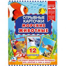 Купить отрывные карточки умка «морские животные» ( id 11054842 )