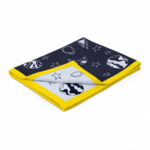Купить одеяло для коляски cybex priam space rocket by anna k, синий и желтый cybex 997029453