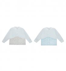 Купить комплект кофта 2 шт папитто летняя, цвет: бежевый/голубой ( id 9476712 )