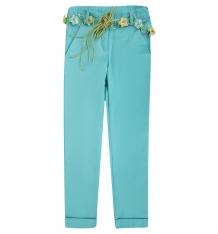 Купить брюки bellbimbo, цвет: бирюзовый 161150