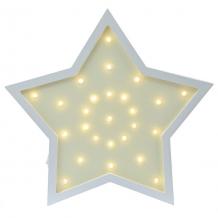 Купить светильник настенный ночной лучик «звездочка», желтый ( id 12370844 )