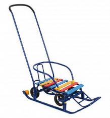 Купить санки galaxy мишутка 1 универсал, цвет: синий ( id 6733548 )