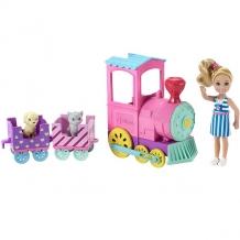 Купить mattel barbie frl86 барби паровозик челси