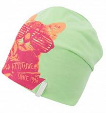 Купить шапка icepeak кот в очках, цвет: зеленый ( id 4987597 )