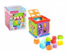 Сортер Elefantino Куб логический развивающий IT104394
