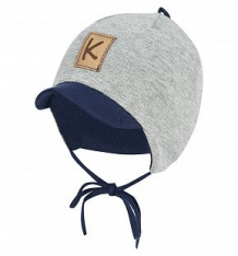 Купить шапка krochetta, цвет: серый/синий ( id 8309125 )