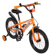 Купить двухколесный велосипед leader kids, цвет: оранжевый ( id 8686849 )