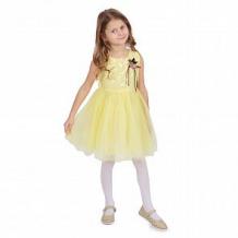 Купить платье малинка, цвет: желтый ( id 11543332 )