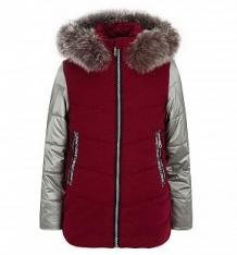 Купить куртка artel, цвет: бордовый/серебряный ( id 9707142 )