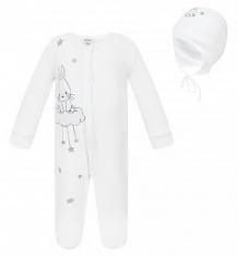Купить комплект полукомбинезон/шапка koala, цвет: белый ( id 8162245 )