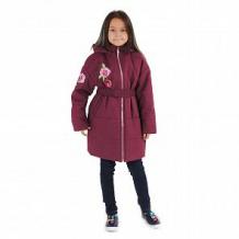 Купить пальто милашка сьюзи, цвет: бордовый ( id 11446552 )