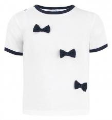 Купить футболка aga', цвет: белый/синий ( id 5478997 )