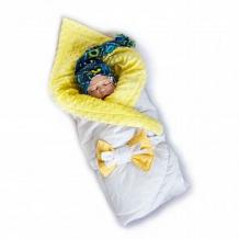 Комплект на выписку Монстрики Slingme, цвет: зеленый комбинезон/одеяло/шапка/снуд/бант 90 х 90 см ( ID 12797500 )