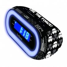Купить часы lexibook будильник звездные войны rl140sw