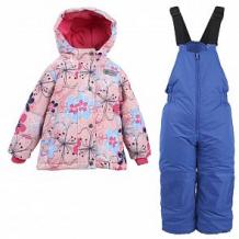 Купить комплект куртка/полукомбинезон salve, цвет: розовый/т.синий ( id 10675859 )