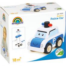 Купить игрушка-конструктор wonderworld miniworld полицейская машина ( id 12987280 )