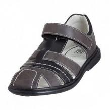 Купить сандалии топ-топ, цвет: серый/черный ( id 12506686 )