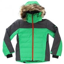 Купить куртка утепленная детская quiksilver the edge kelly green зеленый,серый ( id 1192011 )
