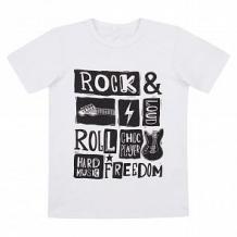Купить футболка leader kids рок звезда, цвет: белый ( id 11447632 )