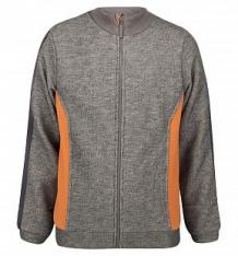 Кофта Ёмаё, цвет: серый/оранжевый ( ID 3251882 )