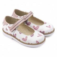 Купить туфли tapiboo, цвет: белый/розовый ( id 12346522 )