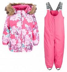 Комплект куртка/брюки Huppa Avery, цвет: фуксия ( ID 6168859 )