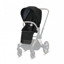 Купить набор чехлов прогулочного блока для коляски cybex priam iii deep black, черный cybex 997162297